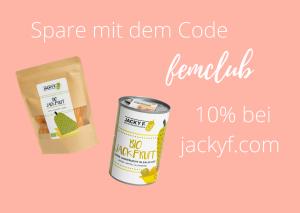 Gutscheincode für Jacky F