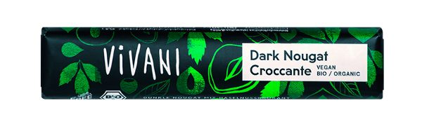 Dark Nougat Croccante Riegel