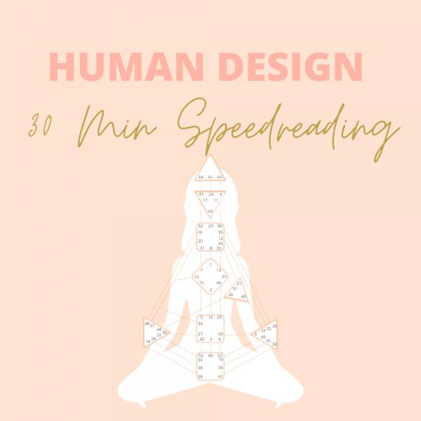 Human Design Speedreading